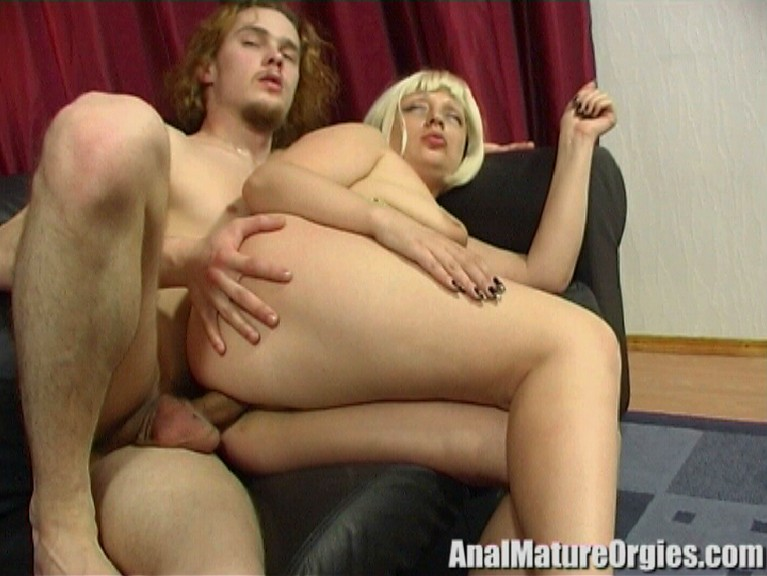 anal mature orgies Hot antique mature on youthful orgy bang-out.