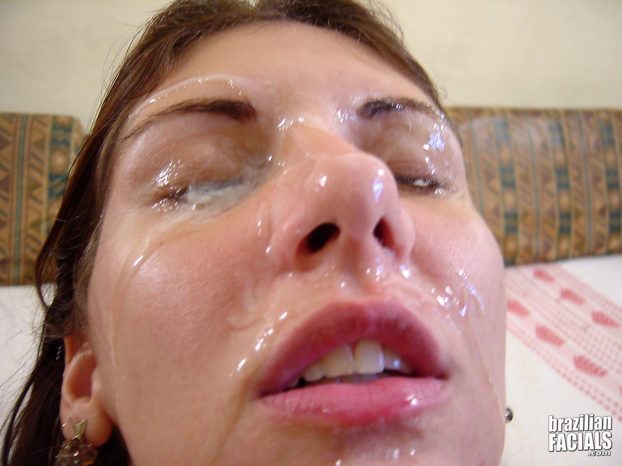 Cumshot finalists facial