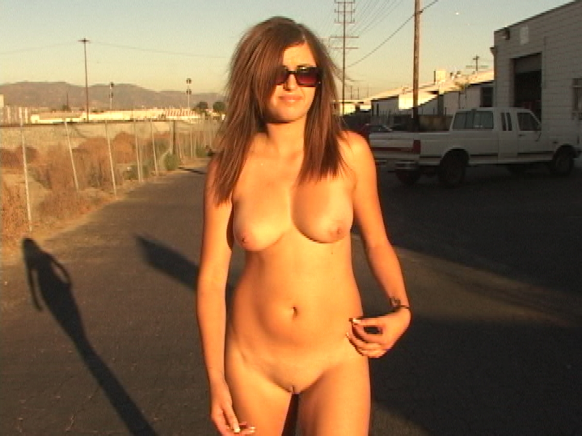 Butt naked in the streets