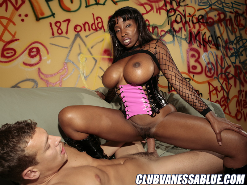 Vanessa blue hardcore, black young hoes