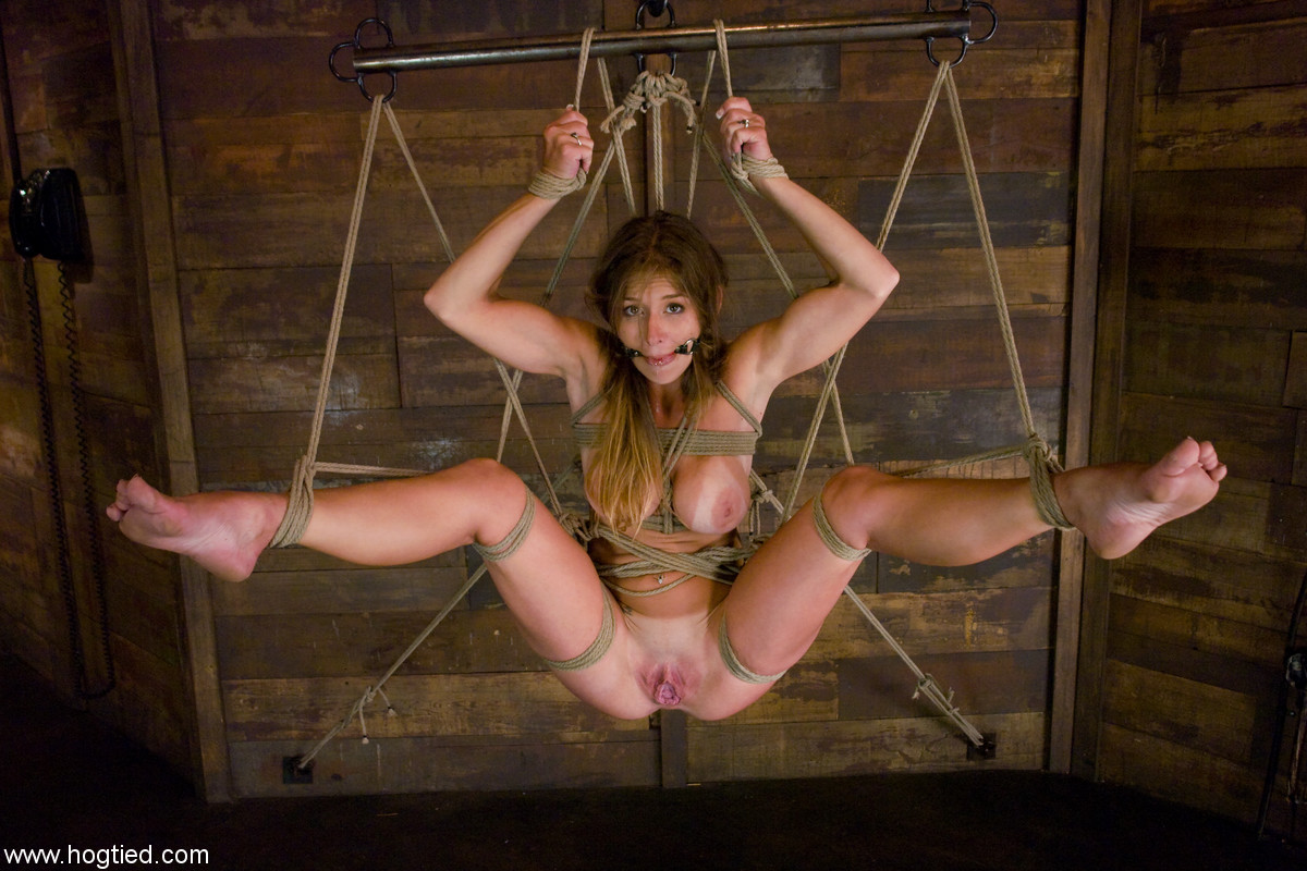 babes hog tied and fucked really hardcore