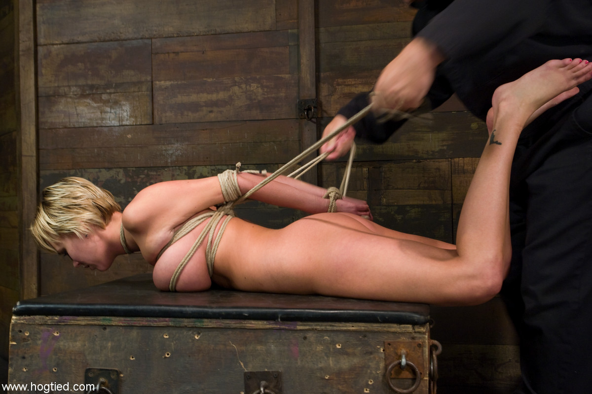Hogtied and gagged videos