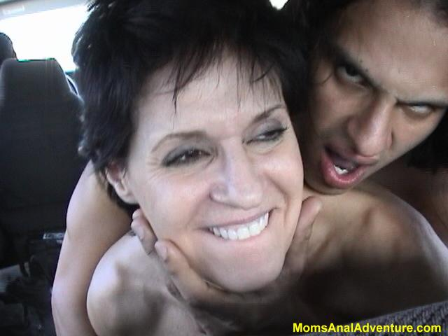 Moms anal adveture