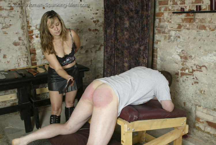 Getting Women caning men porn five minutes